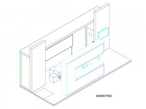 Wireframe Diagram of Stand